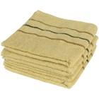 Handtuch 4tlg. hellgrün mit Streifen 50x100 cm - 102670800000 - 1 - 140px