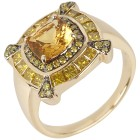 STAR Ring 585 Gelbgold AAA Aquamarin gelb, poliert   - 102763700000 - 1 - 140px