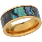Ring Titan vergoldet Abalone   - 102771000000 - 1 - 140px