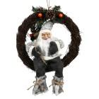 Türkranz Weihnachtsmann, grau - 102782200000 - 1 - 140px