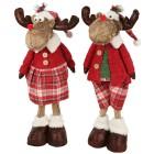 Weihnachts-Elche wackelnd 2er-Set 50cm - 102784000000 - 1 - 140px