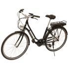 Saxonette E-Bike Fashion, schwarz