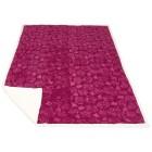 Lammimitat-Decke Rose, beere/weiß - 102862800000 - 1 - 140px
