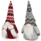 Weihnachtswichtel 2er-Set 26cm grau-rot - 102926300000 - 1 - 140px