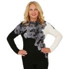 MILANO Design Pullover 'Cagnola' schwarz/weiß/grau   - 102939800000 - 1 - 140px