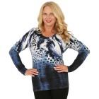 MILANO Design Pullover 'Tabiano', blau/weiß   - 102943000000 - 1 - 140px