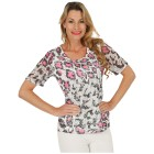 FASHION NEWS  Damen-Shirt, Spitze, pink, weiß   - 103008900000 - 1 - 140px