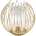Kerzenhalter Gitterkugel gold metall - 103056400000 - 1 - 140px