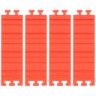 Silikon-Puzzle-Backform rot 4-teilig - 103066100000 - 1 - 140px