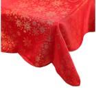 Tischdecke festlich, Lurex rot/gold - 103072100000 - 1 - 140px
