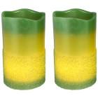 LED-Kerze grün, 2-teilig - 103090700000 - 1 - 140px