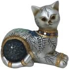 Dekofigur Katze liegend gold - 103092700000 - 1 - 140px