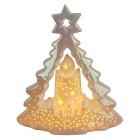 Ceramico LED-Baum mit Kerze - 103095200000 - 1 - 140px