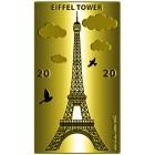 Goldbarren Eiffelturm 2020 - 103100500000 - 1 - 140px