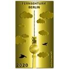 Goldbarren Fernsehturm Berlin 2020 - 103100600000 - 1 - 140px