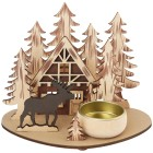 Teelichthalter Waldhütte - 103118400000 - 1 - 140px