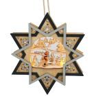 LED-Holzdeko Stern zum Hängen - 103131400000 - 1 - 140px