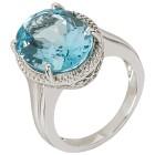 Ring 925 Sterling Silber Blautopas behandelt 21 - 103143200006 - 1 - 140px