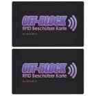 2x OFF-Block Aktive RFID/NFC Schutzkarten - 103150400000 - 1 - 140px