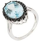 Ring 925 Sterling Silber Blautopas behandelt   - 103166000000 - 1 - 140px