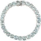Armband 925 Sterling Silber Blautopas behandelt - 103166900000 - 1 - 140px