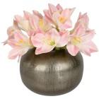 Blumenarrangement Amaryllis weiß in Keramikvase - 103191200000 - 1 - 140px