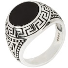 Ring 925 Sterling Silber, mit Onyx   - 103193400000 - 1 - 140px