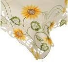 Mitteldecke Sonnenblumen, 85 x 85 cm - 103200400000 - 1 - 140px