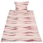 Biber Bettwäsche 2-teilig, Wellen rosa-bordeaux - 103217600000 - 1 - 140px