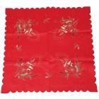 Mitteldecke Kerzen rot 85x85cm bestickt - 103245200000 - 1 - 140px