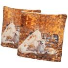 Dekokissen Hunde 2er-Set 40x40cmt - 103247100000 - 1 - 140px
