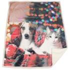 Sherpa-Decke Hund und Katze 130x160cm - 103248300000 - 1 - 140px