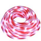 LED Lichterschlauch flexibel rot-weiß 6m - 103258600000 - 1 - 140px