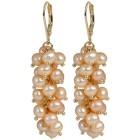 Ohrhänger 925 St.Silber vergoldet Perlen rosé - 103295300000 - 1 - 140px