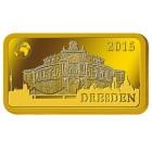 Goldbarren 1 g Dresdner Semperoper 2015 - 103300400000 - 1 - 140px