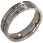 Ring Titan mit Zirkonia   - 103351900000 - 1 - 140px