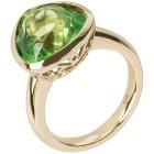 Ring 925 St. Silber vergoldet, Bernstein grün   - 103362200000 - 1 - 140px