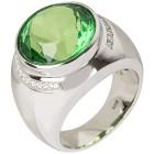 Ring 925 St. Silber Bernstein grün+Spinell   - 103362300000 - 1 - 140px