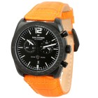 "MANAGER Herren-Chronograph ""Bolt"", schwarz-orange - 103368300000 - 1 - 140px"