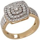 Ring 585 Gelbgold Brillanten   - 103380900000 - 1 - 140px