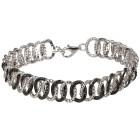 Armband 925 Sterling Silber rhodiniert Brillanten - 103383000000 - 1 - 140px