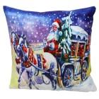 LED-Kissen Weihnachtskutsche 40x40cm - 103420400000 - 1 - 140px