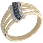 Ring 375 Gelbgold Diamanten   - 103469700000 - 1 - 140px