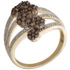 Ring 585 Gelbgold Diamanten 18 - 103470000002 - 1 - 140px
