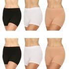 COSY COMFORT 6er Pack Panty schwarz/weiß/haut 36/38 - M - 103483100001 - 1 - 140px