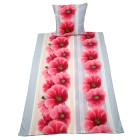 WinterDreams Bettwäsche Blumen Streifen 155x220cm - 103487000000 - 1 - 140px