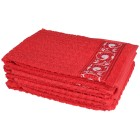 Handtuch 4tlg. rot - 103496500000 - 1 - 140px