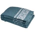 Handtuch 4-teilig grün, mit Fransen - 103496900000 - 1 - 140px