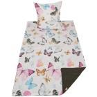 AllSeasons Bettwäsche 2tlg. bunte Schmetterlinge - 103520800000 - 1 - 140px