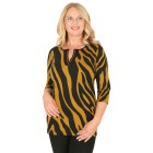 RÖSSLER SELECTION Damen-Shirt schwarz/curry 52 - 103527900009 - 1 - 140px